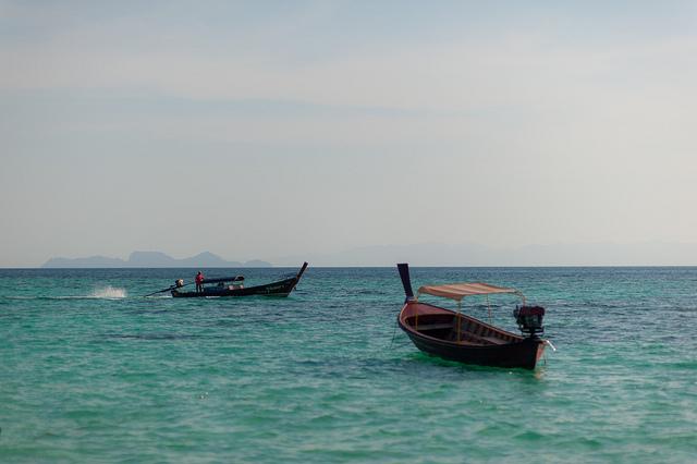 Лодки южного Таиланда