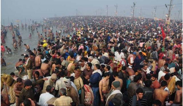 Кумбха Мела 14 января 2013