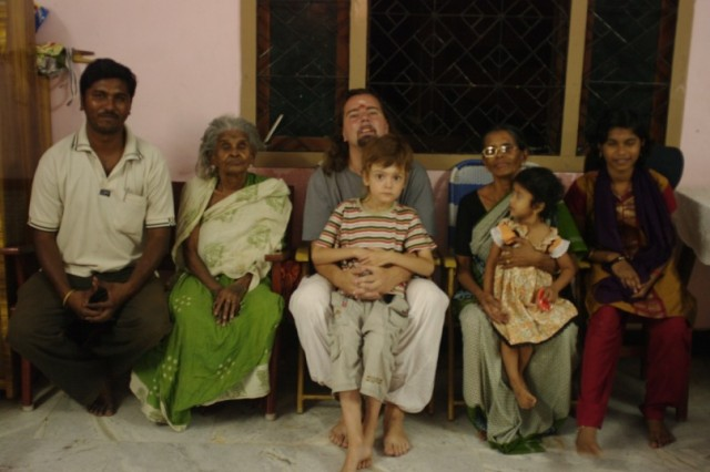 моя большая индийская семья(Срирангам)