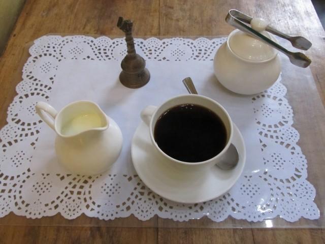 Десерт в Teapot Cafe