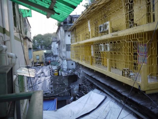 Вид с балкона геста