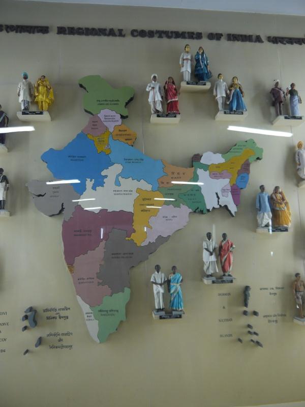 костюмы разных регионов Индии