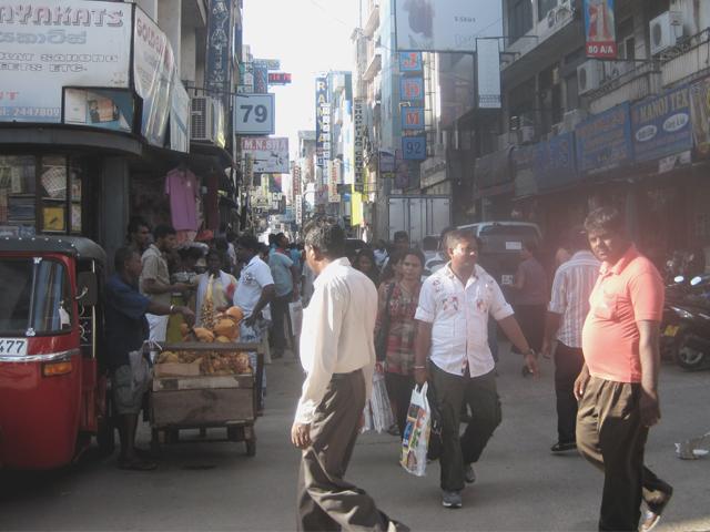 Рынок, занимающий целый район Коломбо