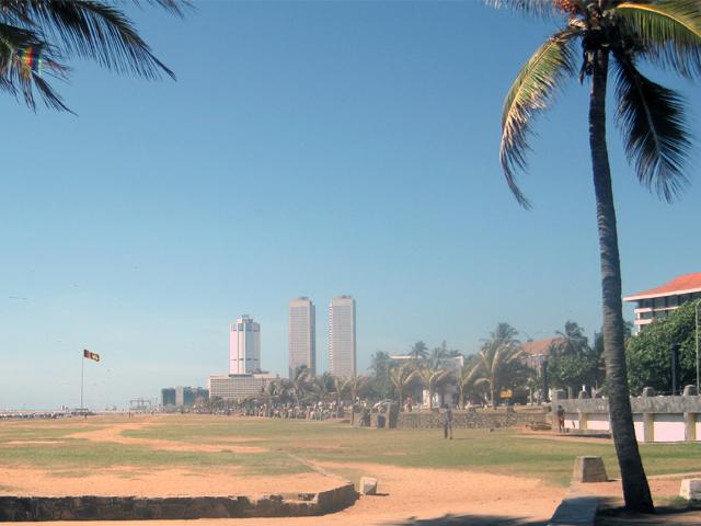 Главная площадь Коломбо
