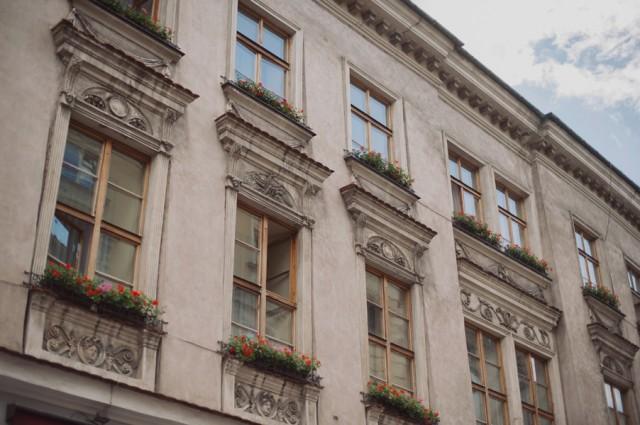 красивая архитектура Кракова