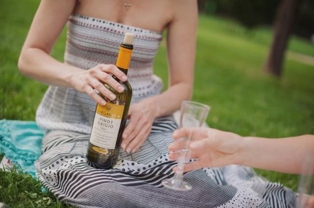 ... и не мение вкусное вино