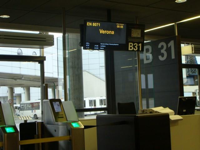 Наш выход на Веронский рейс.