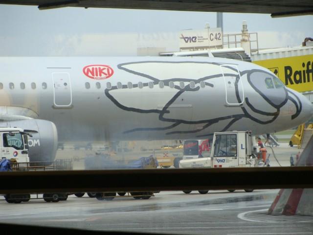 Фото в Венском аэропорту.