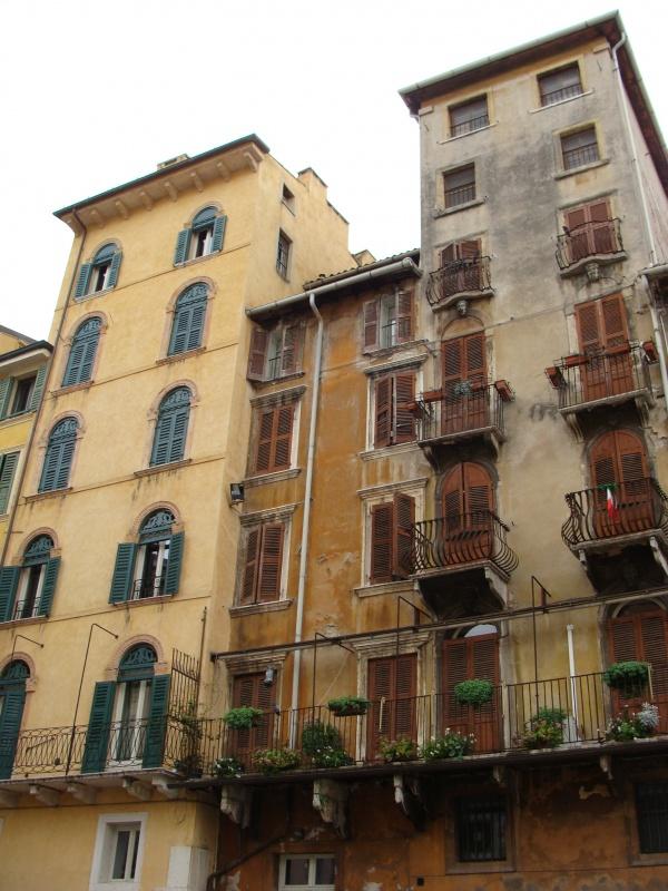 Веронские дома.