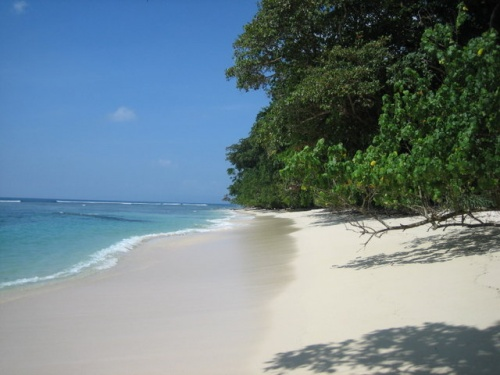 Небольшой пляж на острове Хавелок