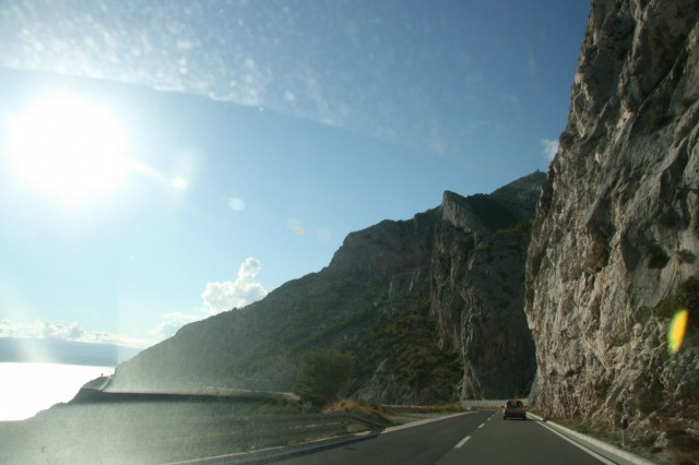 дорога вдоль Адриатики