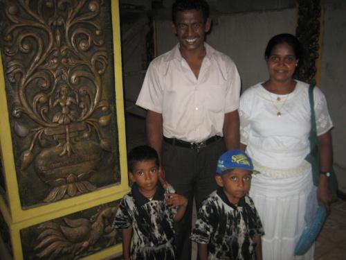 Ланкийская семья