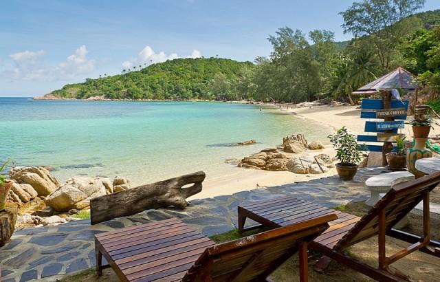 Koh Phangan, Coral Bay