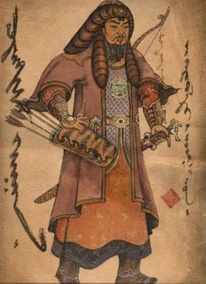 Чингисхан. Старинное китайское изображение