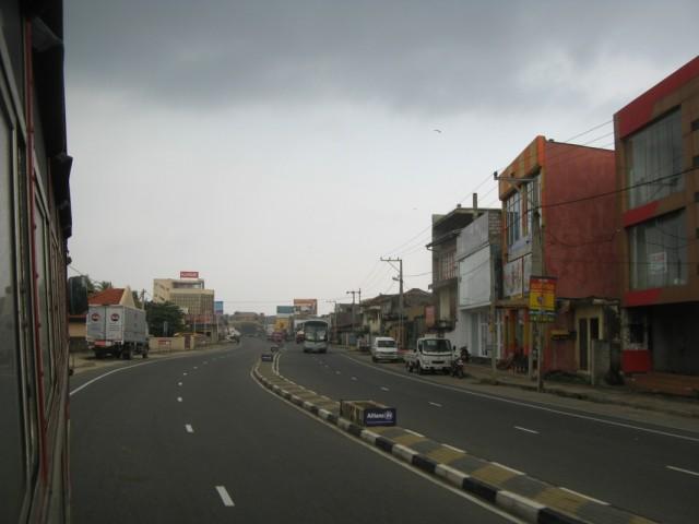 Главная улица Гол (Galle). Та-самая...
