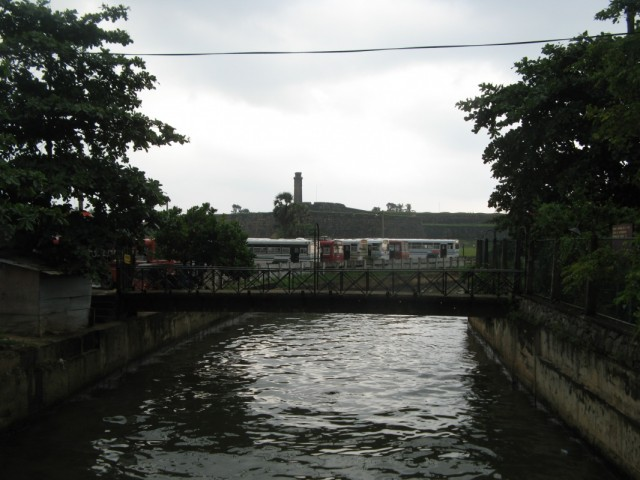 Канал и Форт вдалеке
