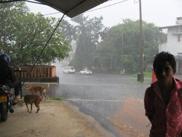 Дождь и Второй Мачан