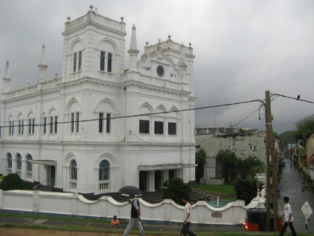 Уникальная Мечеть Meeran Jumma Masjid