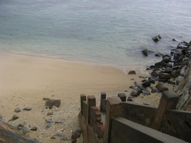 Лестница на пляжик