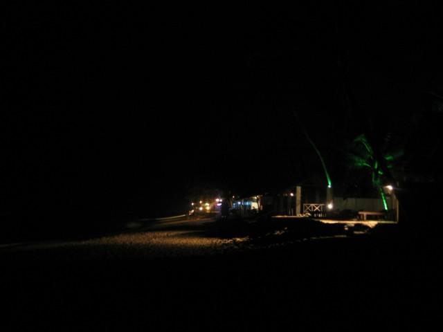 Вечерне-ночной пляж %-)))
