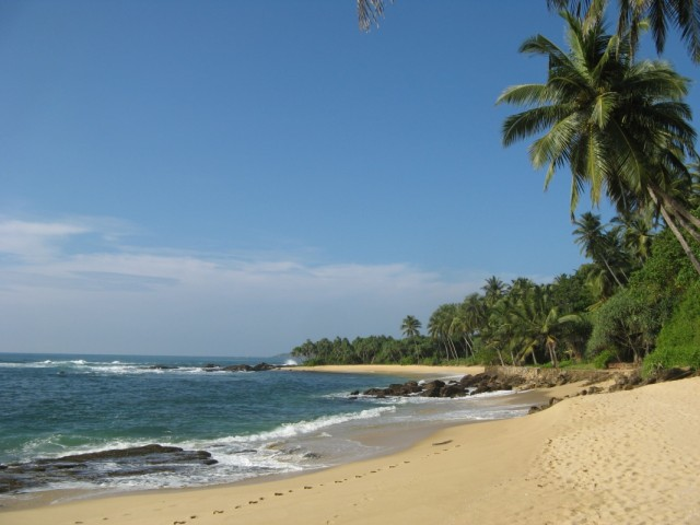 У-Накуру-Ва-Бич, Южная Шри Ланка :-)))