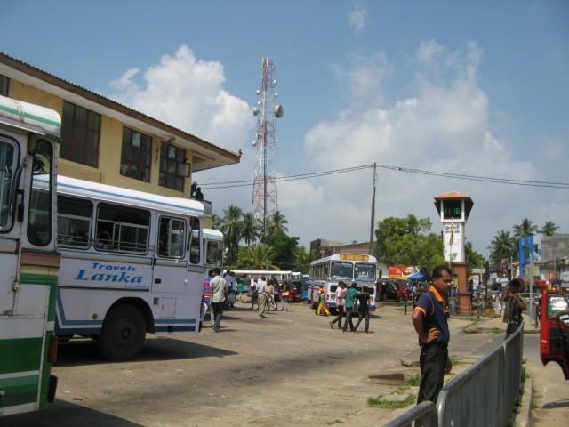 Автовокзал в Тангалле-Тэнголь