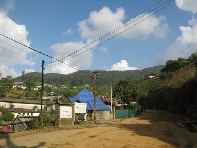 Вид с дороги в сторону Нувара Элии