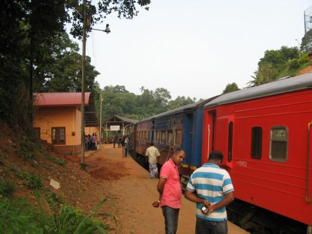 Станция Перадения-Джанкшн, пригород Канди