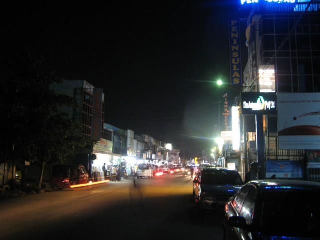 Ночной Негомбо-Сити