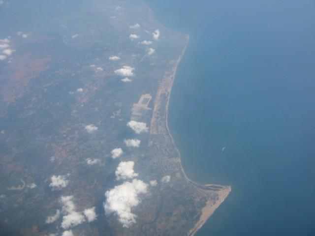 Индия))))) Тамил Наду. Район от Манапада (Manapad, внизу) до Тхиручендура (Thiruchendur, вверху)