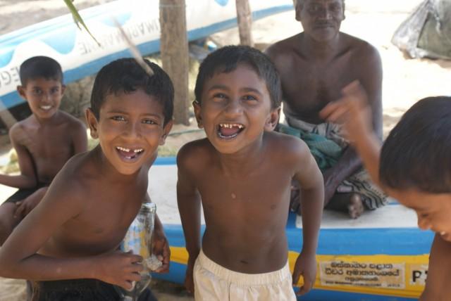 Дети рыбака