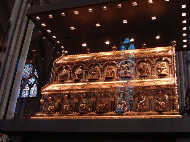 второй саркофаг Трех царей (или Трех волхвов)