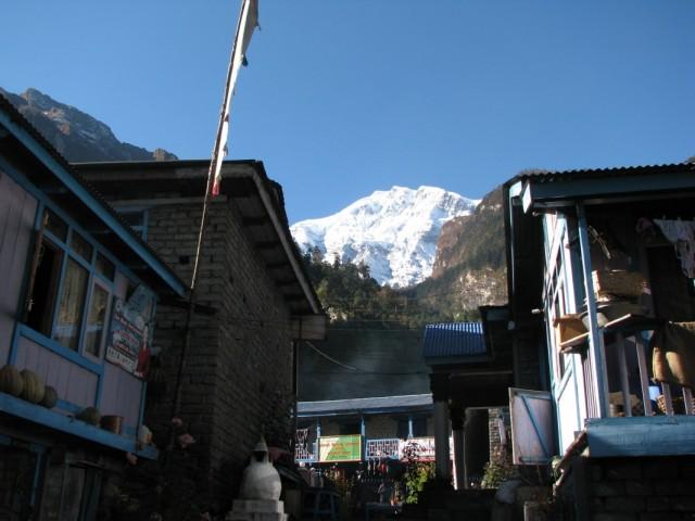 утренний Lamjung Himal