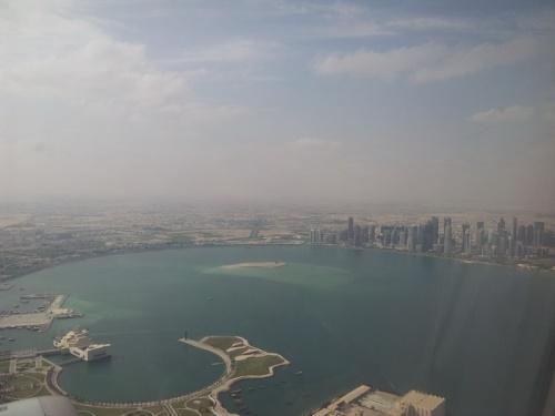 Доха. Набережная Корниш.