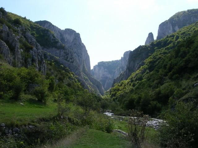 Каньон в горах Турда (Западно-Румынские горы)