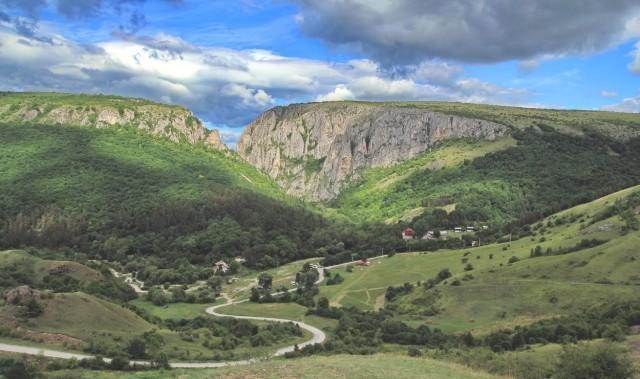Осень в горах Турда (Западно-Румынские горы)