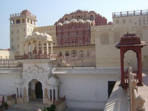 Джайпур. Хава Махал.