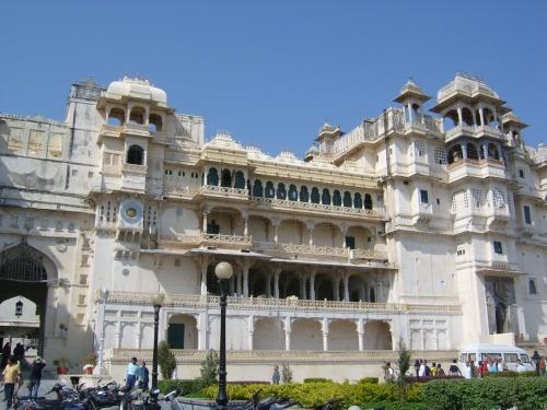 Удайпур. Городской дворец.