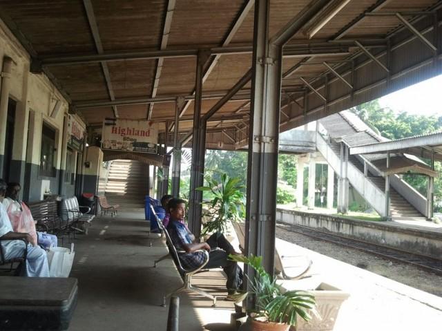 платформа ж/д в Negombo