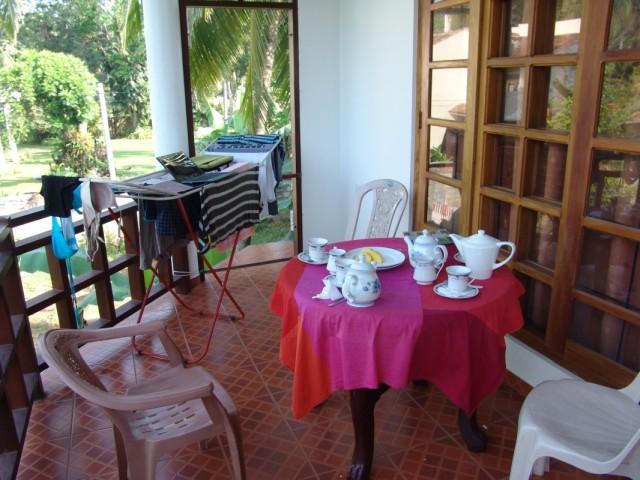 завтрак в Unawatuna