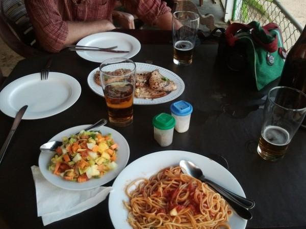ужин в Mirissa