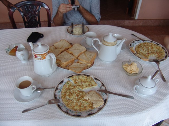 завтрак в гесте Moni
