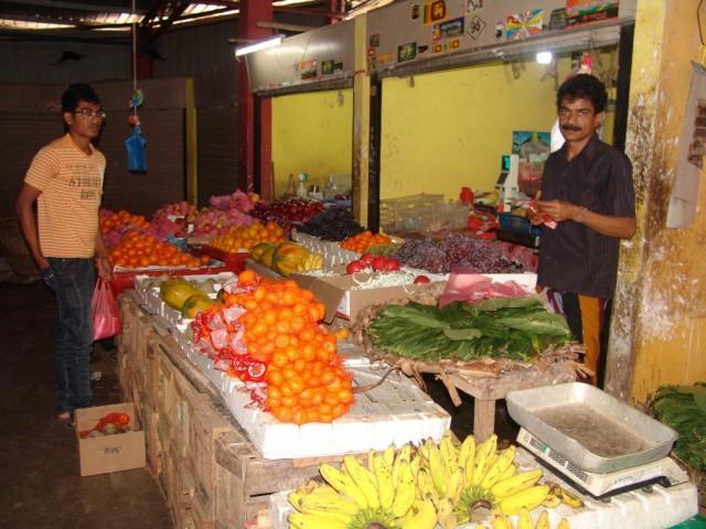 рынок в Trincomalee