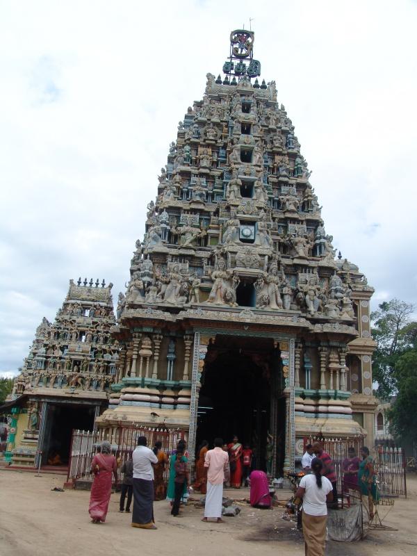 индуистский храм в Trincomalee