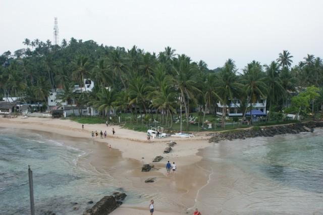 пляж в Mirissa