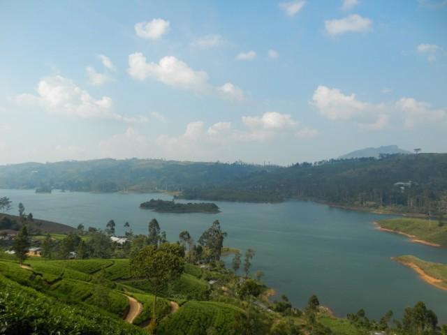 искусственные озера в горах
