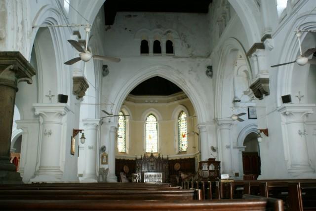 католический храм в форте Galle