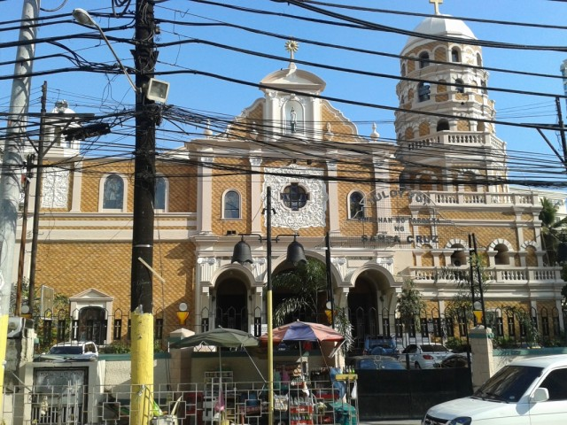 Манила, церковь Санта Круз