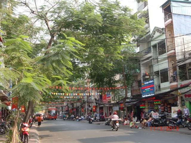 Туристическая улица Pham Ngu Lao