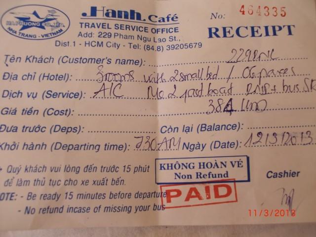Квиточек на 2-х дневный трип по дельте Меконга на 6 человек